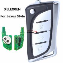 XHORSE for LEXUS Style Super remote key  Remote 3 button XELEX0EN  for VVDI Key Tool VVDI2