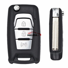Original For Ssangyong 3 button remote key with 4D70 chip with 433.92HMZ   For 2011-2017 Ssangyong Kolando