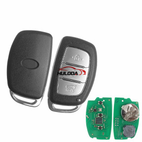 For Hyundai 3 button keyless remote key with 434mhz IX25 C9100 KEYLESS after 2018