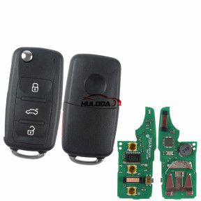 For VW MQB keyless megamos AES48 3+1 button with 315mhz KYDZ