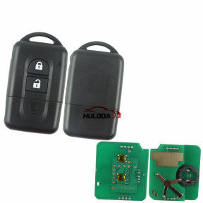 Replacement Keyless Remote key 2Button 433MHz PCF7936 Chip for Nissan X-trail Qashqai Pathfinder 285E34X00A / 285E3EB30A