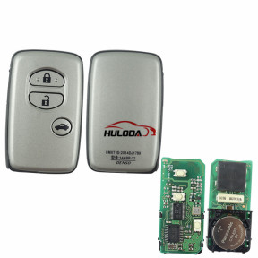 original for Toyota 3 button smart remote key with 315mhz 4D+DST40 chip,PCB board number 0140#
