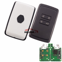 keyless card 4 button with PCF7953M chip 434mhz  for Renault Megane 4,Talisman 5,Espace 5