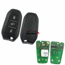 Original For Citroen DS smart remote key  434mhz with (HITAG AES) 4A chip with light button