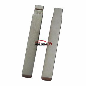 123# TOY2014 Metal Blank Uncut Flip KD VVDI Remote Key Blade for TOYOTA New Models COROLLA LEVIN