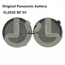 100% Original VL2020  90 Degrees Pins Replace +3V Rechargeable Battery For BMW Car Key Remote