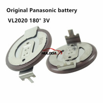 100% Original VL2020  180 Degrees Pins Replace +3V Rechargeable Battery For BMW Car Key Remote