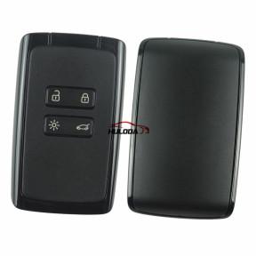 Original for Renault keyless Megane4 ,Talisman, Espace5 4button card PCF7953M-434mhz CMIIT ID:2014DJ3371