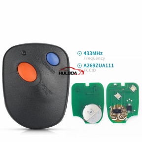 2Button 434MHz For Subaru Smart Car Remote Key A269ZUA111 433MHz Replacement For Subaru Outback 2000 2001 2002 2003 2004
