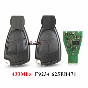 433Mhz 2/3 Buttons NEC Remote Key Fob For Mercedes Benz B C E ML S CLK CL 3B 3BT Complte Control Key 1996-2005