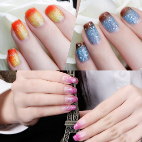 Rosalind 10ml Temperature Changing Glitter Nail Gel