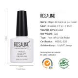 Rosalind 10ml 3D Magnetic Cat Eye Nail Gel
