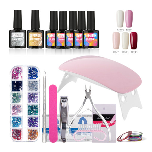 Rosalind 10ML Nails Kit for New Learner