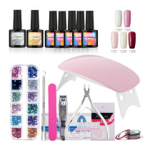 Rosalind 10ML Gel Nails Polish Starter Kit