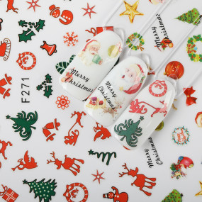 Rosalind New Year Water TransferNail Art Stickers