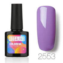 Rosalind 10ml Purple Color Nail Gel