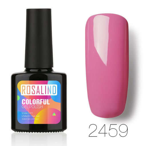 Rosalind 10ml Pink Girl Color Nail Gel