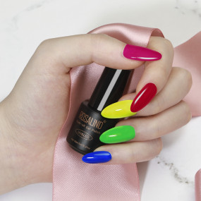 Rosalind 7ML*12pcs Neon Bright Color Gel Set
