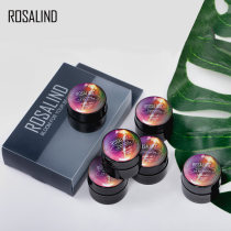 Rosalind 6Pcs/Lot 5ml Thermal Changing Cat Eye Nail Gel
