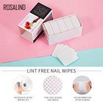 Rosalind 250Pcs/Lot Lint-Free Nail Wipes Napkins