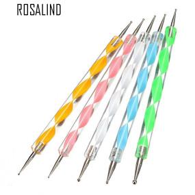 Rosalind 5Pcs/Pack Professional Dotting Nail Tools