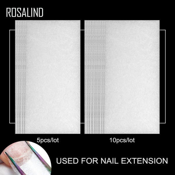 Rosalind  5/10pcs/Lot Non-Woven Silks Nail Extension