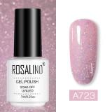 Rosalind 7ml Shiny Glitter Neon Nail Gel
