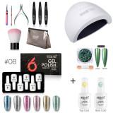 Rosalind 15ML 6PCS Gel Polish Set Professional Kit