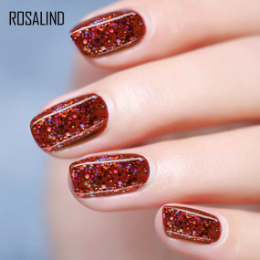 Rosalind 7ML Luminous Diamond Red Gel Nail
