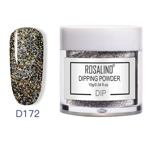 Rosalind Glitter Holographic Dipping Powder