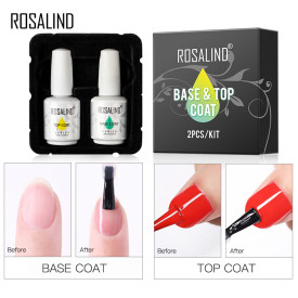 Rosalind 15ML 2Pcs Kit Base&Top Coat