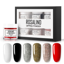 Rosalind 6Pcs/Lot 20g Dipping Powder