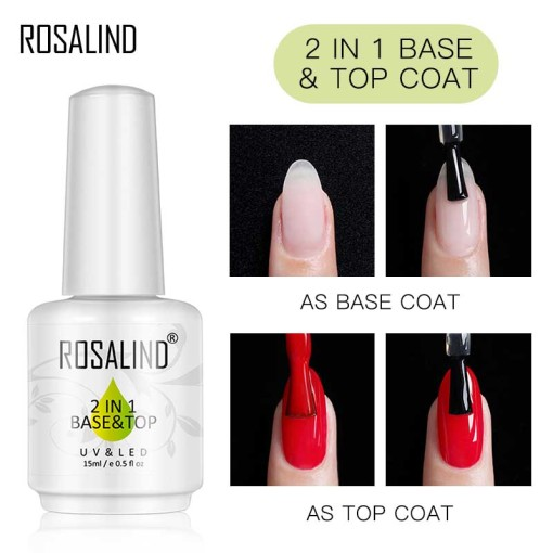 Rosalind 2 in 1 Base&Top Coat