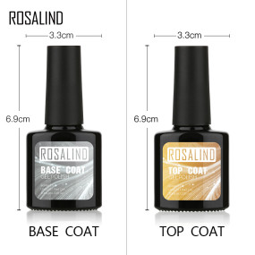 Rosalind 10ml Top&Base Coat Set