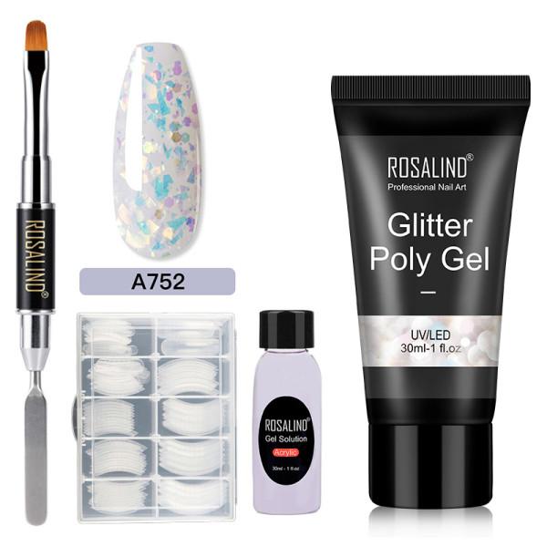 Rosalind 30ML Glitter Sequins Poly Gel