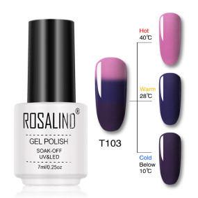 Rosalind 7ml Temperature Color Changing Gel Nail