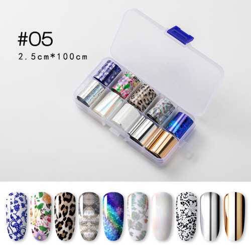 Makartt Nail Art Foil Glue Gel With Starry Sky Star Foil Stickers Set Nail Transfer Tips Manicure Art Diy 15ml 20pcs 2 5cm100cm Stickers Uv Led Lamp Required