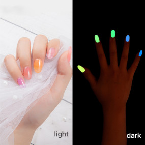 Rosalind 7ML Glow In The Dark Nail Kits (12PCS/LOT)