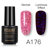 Rosalind 7ml Luminous Rose Gold Gel Glitter