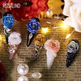 Rosalind 5ML (6PCS/LOT) Glitter Carving Gel Kit