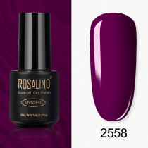 Rosalind 7ml Violet Pearl Color Nail Gel