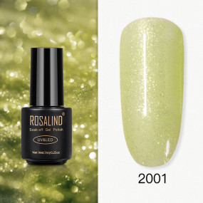 Rosalind 7ml Yellow Diamond Glitter Nail Gel