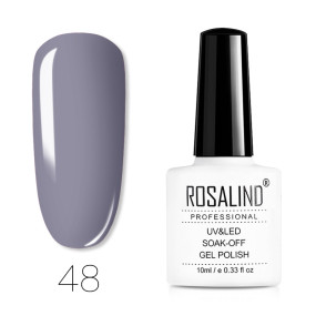 Rosalind 10ml Elegant Grey Color Nail Gel