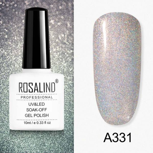 Rosalind 10ML Colorful Holographic Gel Nail