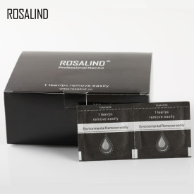 Rosalind 200Pcs/Box Gel Polish Remover Wipes