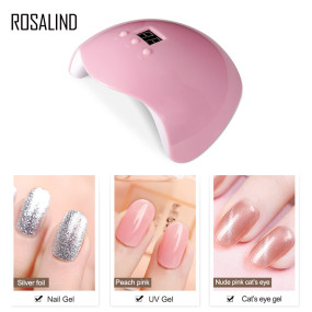 Rosalind 36W Gel UV LED Nail Lamp Pink