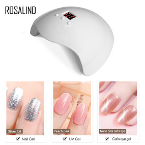 Rosalind 36W Gel UV LED Nail Lamp Wthite