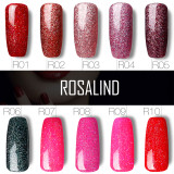 Rosalind 10ml Rainbow Holographic Gel