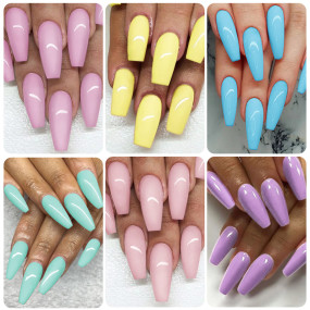 Rosalind 15ML Pastel Series Gel Nail Set