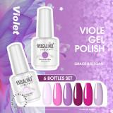Rosalind 15ml Lvender Soak Off Gel